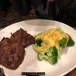 Beef with broccoli cheese