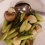 Asparagus with Scallops