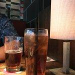 Ice Tea and a beer, Cactus Club Cafe 1125 Douglas St, Victoria, British Columbia