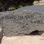 Grand Island Park Marker