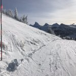 Grand Teton view from top of Dreamcatcher lift