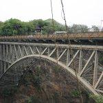 Victoria Falls Bridge.