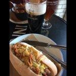 Delicious hotdog