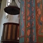 Pulpit in the church