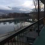 View from our room, Riverland Inn & Suites  1530 River St, Kamloops, British Columbia