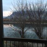View across river, Riverland Inn & Suites  1530 River St, Kamloops, British Columbia