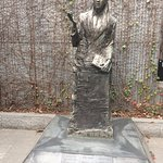 """Statue of Iris Chang, Chinese American who published """"The Rape of Nanking"""""""