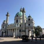 Karlskirche (St. Charles Church) in Vienna