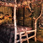 """""""Tree Fort Themed Room"""" with 1 Queen bed!"""