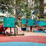 Outdoor Children Playground at Treetops Executive Residences