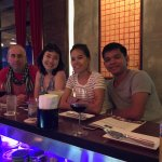last night in Phnom Penh with new friends