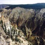 Grand Canyon of Yellowstone on September 10