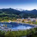 Alpentherme Gastein Sommer Panorama