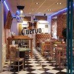 Zona de Cantina con tapas y tacos