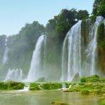 Водопад Дэтянь в провинции Каобанг