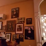 Some of the Mona Lisa's on show
