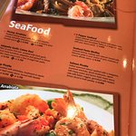 10 seafood items in the menu