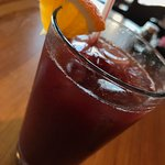 Italian sangria - fruity beverage