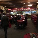 Carino's ample entry area...