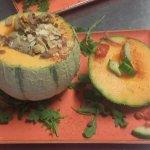 Chez Nous le  Melon au Four ( Incontournable)
