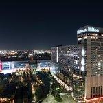 Enjoy a night out along Avenida Houston.