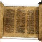 One of the original Torah scrolls