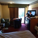 Room you get with Expedia. No discount for AAA, AARO, Military or senior discount of 10%.