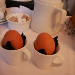 Improvised egg cups
