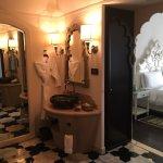 Suptious spacious rooms