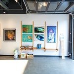 the gallery has an awesome mix of local artists