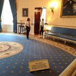 Just kidding. That's the White House Blue Room.
