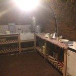 Kitchen underground WW2