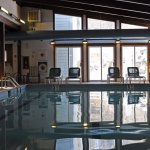 Indoor pool in The Mill building at Purity Spring Resort