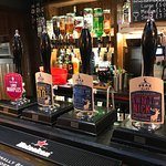 A selection of local ales