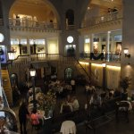 Dining In Former Indoor Pool of Hotel Alcazar, Now Lightner Museum