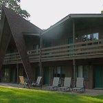 A-Frame Building Facing Voyageur Lake