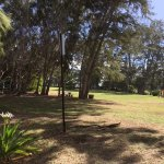 Picnic area on large lawn