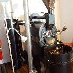 their own coffee bean roaster
