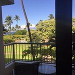 Partial ocean view room, 3rd floor of Lanai building