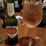 Stella & a Wine Spritzer