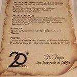 St Tropez Hotel Conrad_Pta del Este-Menu 20 aniversario