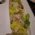 dinner- chicken ceasar salad