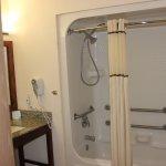 Accessible bathroom.