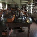 Edison's lab brought from Menlo Park