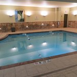 Hotel pool in north building