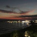 Aiya Napa harbor at night