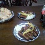 Portion of 10 kebabs, served in Destan in TC Bunjakovec