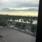 views over Albert Park lake