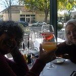 Happy mimosa ladies