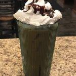 Homemade coffee ice mocha